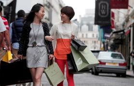 Shopping on Bond Street in the London Luxury Quarter is set to boom in the Chinese October Holiday period
