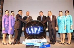 TG154-Photo News THAI and Bangkok Airways Co-Host AAPA Emergency Response Conference 2013