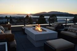 The new addition to the Majestic Inn & Spa in Anacortes, Wash., features a 2,500-square-foot casual rooftop lounge featuring food and beverage from the Inn's own 5th Street Bistro.