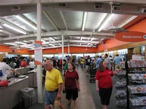 INSIDE the Unclaimed Baggage Centre on an average day: a million bargain-      hunters pour  through the store annually.