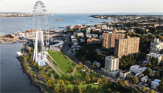 Updated composite images for New York Wheel (Photo: Business Wire)