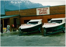 A second boat joined the fledgling fleet at Dart River Jet Safari's base in Glenorchy