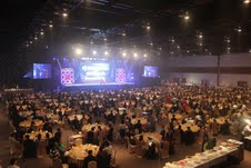 Delegates converged at the Pattaya Exhibition And Convention Hall (PEACH) for their gala dinner during the Minor Food Group Manager Conference 2013.