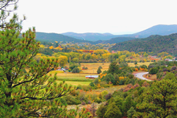Taos, NM and the Enchanted Circle Drive - one of the Best Fall Color Drives in the U.S.