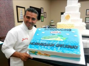 "Buddy Valastro, Star of TLC's ""Cake Boss,"" to Open Carlo's Bake Shop on Miami's Ship"