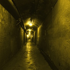 TUNNEL 250m from hunting lodge and stables in event of bad weather. (Casa Loma Corporation)