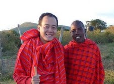 Clement Wong and Maasai
