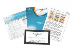 Collection of Tourism e kit collateral