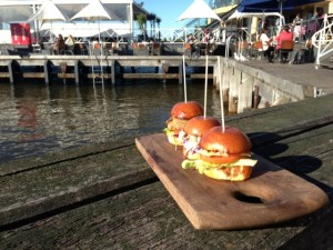 Food & wine - Sliders by the Water at Craft & Co