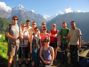 G Adventures hosts STA famil to Nepal