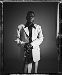 Geoffrey Gurrumul Yunupingu, headline act at Melbourne Festival's China Southern Airlines Sidney Myer Music Bowl Annual Concert