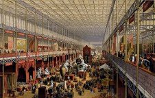 Interior of the original Crystal Palace