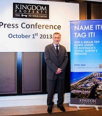 Name It! Tag it!: Kingdom Property CEO Nigel Cornick (pictured) has recently announced an innovative naming competition for the company's next project.