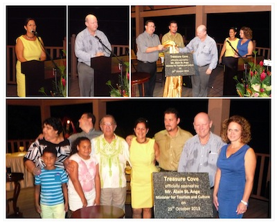 Official Opening of Treasure Cove Hotel