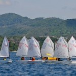 Optimist racing. Dinghy classes at the 2012 Phuket King's Cup Regatta. Photo by Joyce Ravara