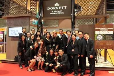 The Dorsett Team at ITB Asia 2013 (a)