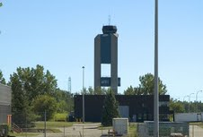 The control tower, Mirabel Airport