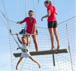 Trapeze at Club Med Bali