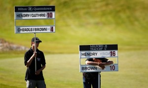NZPGA - Queenstown, Round 4, 1 April 2012