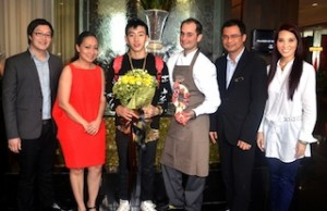 Welcomed the 2 World Renowned Jay Park and 2 Michelin Star Chef Alexandre Couillon at VIE