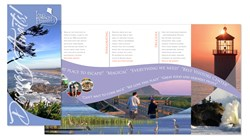 The Long Beach Peninsula Visitors Bureau created a brochure that captures well the experience of a visit to this popular Washington State beach.