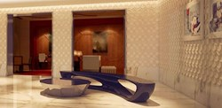 The Lobby of the Quin - New York City's Newest Luxury Hotel.