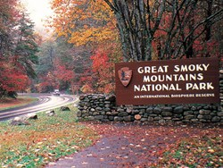 The Great Smoky Mountains National Park is in full operation for visitors to view the beautiful fall color display.