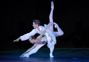 Ballet Dancers from the Music Center of Los Angeles' Spotlight Awards, performing during an Emerging Artists-themed cruise.
