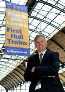 Will Dunnett, MD of First Hull Trains