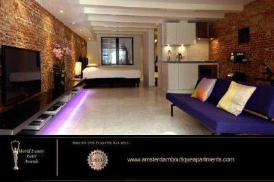 This year's World Luxury Hotel Award for Best Serviced Apartment in Europe was granted to Amsterdam Boutique Apartments, the most elegant design apartments in the historical canal belt of Amsterdam. The World Luxury Hotel Awards are regarded as the Oscars for the luxury hotel industry and are known as the highest accolade a property can receive.