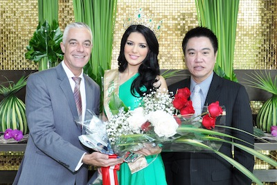 Chatrium Hotel Riverside congratulates Miss Grand International 2013