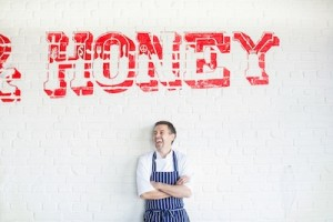 Chef-owner Martin James credits his mum for Public's food concept