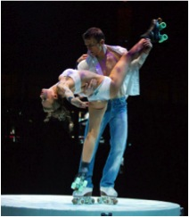 Critically acclaimed acro-cabaret variety show, Absinthe