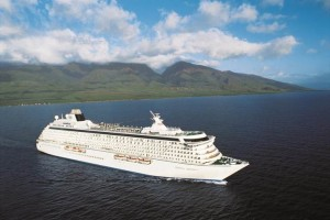Crystal Serenity in Hawaii