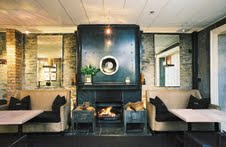 Eichardt's Bar is a warm and inviting place to relax in winter