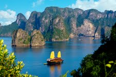 Halong view from high location