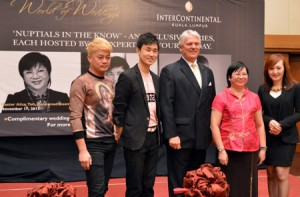 InterContinental-Wedding-Gurus-with-General-Manager-Phil-Riley-and-Director-of-Sales--Marketing-Janny-Yeow-450x296