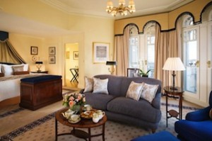 Knightsbridge Turret Suite at Mandarin Oriental Hyde Park, London