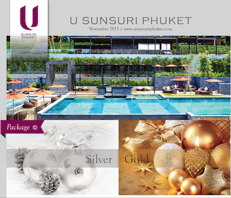 Make Your Christmas Truly Marry At U Sunsuri Phuket