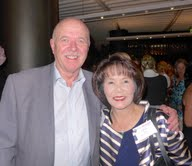 Mike Smith of World Trade Travel and Helen Wong of Helen Wong's Tours