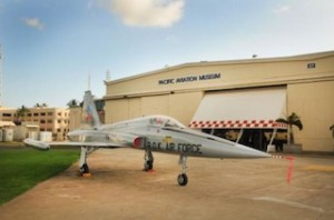 F-5A in front of Hangar 37, Pacific Aviation Museum Pearl Harbor. (PRNewsFoto/Pacific Aviation Museum Pearl Harbor)