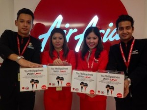 Photo- AirAsia #toPHwithlove