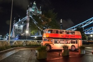 One of Topdeck's original double-deckers, a 1958 Bristol Lodekka called 'Tadpoles', was brought out of retirement to help celebrate the company's 40th birthday.