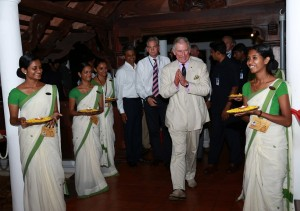 Prince Charles, Prince of Wales, celebrated his 65th birthday in Kerala