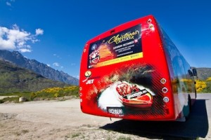 Shotover Jet's eye-catching new coaches are hugely visible in Queenstown_media