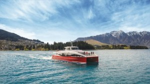 Spirit of Queenstown with The Remarkables backdrop