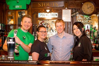 Pog Mahones Irish Pub will celebrate its 15th birthday with a pint or three of Guinness