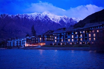 The Hilton Queenstown Resort & Spa at the foothills of The Remarkables