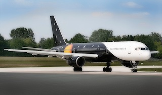 Titan Airways' Boeing 757-200