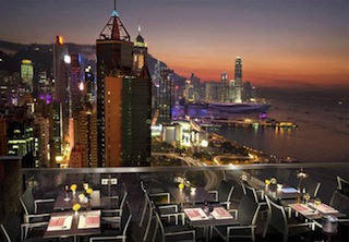 ToTT's and Roof Terrace at The Excelsior, Hong Kong